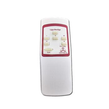 Controle Remoto Ventilador Venti-Delta Efyx Lunik 127volts - Infra Vermelho - Kit c/Transmissor+Receptor c/Cap. 3Fios 7,5uF (3,0+4,5mF)