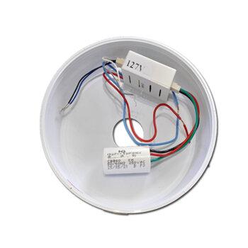 Módulo Receptor do Controle Remoto Venti-Delta Lunik Efyx - 127V c/Cap. 7,5uF (3,0+4,5mF) c/Canopla Efyx Lunik - *Apenas o Módulo Receptor*