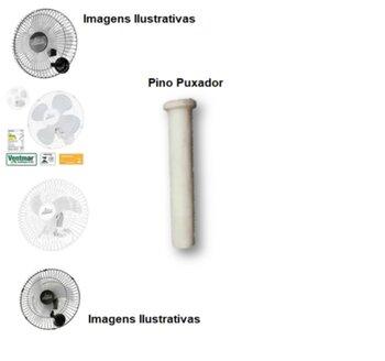 Pino Puxador do Oscilante Ventilador Venti-Delta Premium 50/60cm - Pino Plástico Branco