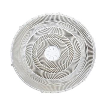 Grade para Ventilador Ventisol New Notos Turbo 50cm - Grade DIANTEIRA Plástica BRANCA - Sem Emblema/Logamarca