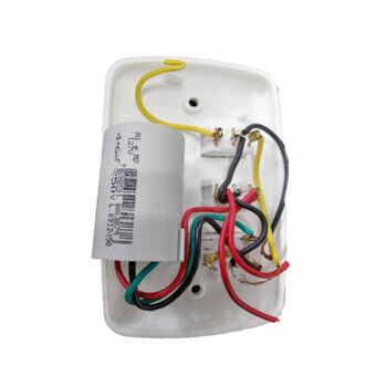 Chave para Ventilador de Teto RioPreLustres 3Velocidades 127V10,0uF 4+6mF BRANCA - Ventilador Loren Sid Venti-Delta Arge Motor Antigo