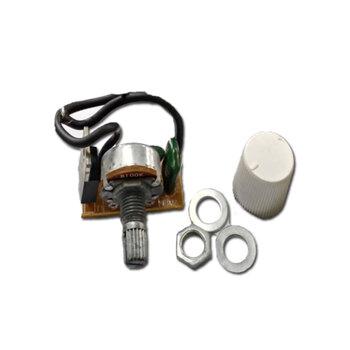 Dimer Rotativo sem clique 0200W bi-volts c/Botão c/Fios SEM Trimpot