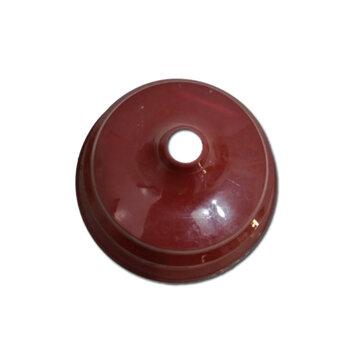 Canopla Plástica Superior para Ventilador de Teto ARGE - Cor VINHO