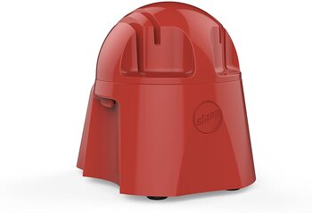 Afiador de Facas Elétrico 220v - Gourmet Carenagem de ABS cor Vermelho/Tomate - Amolador de Facas Anodilar *ÚLTIMA PEÇA*