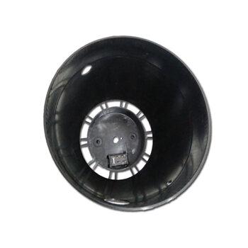 Capacete Tampa Carcaça Traseira do Motor Ventilador Ventisilva 65cm Preta - c/Chave de Voltagem