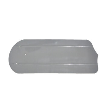 Pá Hélice para Ventilador de Teto Venti-Delta Comercial Delta Plus Eco - Modelo Metal cor CINZA - p/Garra GRANDE - Vendida p/Unidade