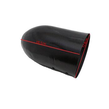 Capacete Tampa Carcaça Traseira do Motor Ventilador Solaster Acapulco Barcelona Veneza 70cm Preta Antigo - SEM Chave de Voltagem