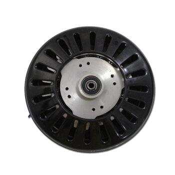 Motor do Ventilador de Teto Ciclone - 4pás - 220v - Equatorial - Cor Preta - Com Rosca - Eixo 12mm -