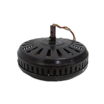Motor para Ventilador de Teto Super Ciclone 127Volts cor Preta Modelo p/4Pás c/Rosca p/Luminária Eixo 12mm - *Usar c/Capacitor 10,0uF