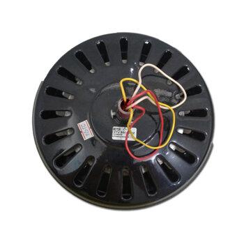 Motor para Ventilador de Teto Super Ciclone 127Volts cor Preta Modelo p/3Pás c/Rosca p/Luminária Eixo 12mm - *Usar c/Capacitor 10,0uF