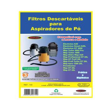 Saco para Aspirador de Pó Electrolux WAP GT A20 A 20L SMART GT 3000 - Saco Descartável Tipo Electrol