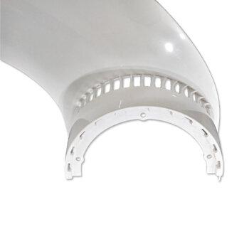 Pá Hélice para Ventilador de Teto LATINA VT300 VT355 Cor Branca - Pá Ventilador VT300 VT355 - *Vendida p/Unidade