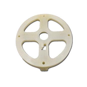 Tampa TRASEIRA do Motor Ventilador ARGE 50cm 60cm - Campana do Motor Ventilador Oscilante Arge 50cm ou 60cm - Encaixe p/Rol-6201