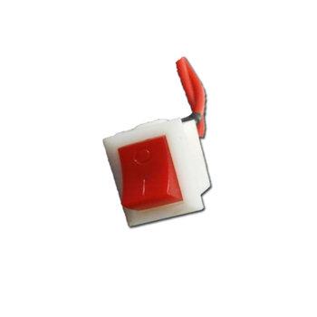 Tecla Liga Desliga do Umidificador Ventisol U-04 - Botão Vermelho de Ligar/Desligar Umidificador de 3,70Litros U4 da Ventisol