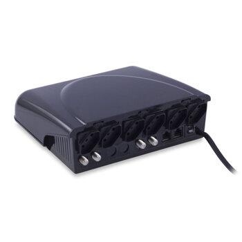Protetor Inteligente para TV, Áudio e Vídeo 127V - Ligue Tudo em um só lugar com Segurança - Force Line/ForceLine