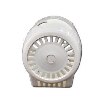 Capacete do Motor para Ventilador Ventisol 30/40/50cm New Notos Branco - Capa Plastica para Ventilador de Mesa, de Coluna ou Parede
