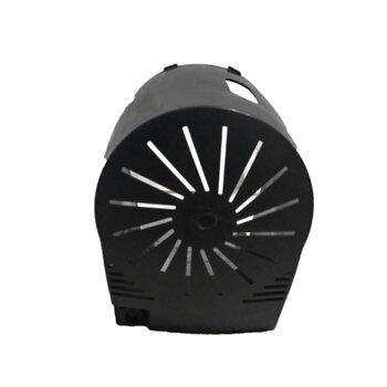Capacete do Motor para Ventilador Ventisol 50/60cm New Notos Preto - Capa Plastica para Ventilador de Mesa, de Coluna ou Parede
