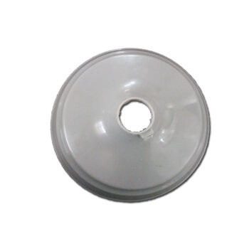 Canopla Plástica Superior para Ventilador de Teto ARGE - Cor CINZA