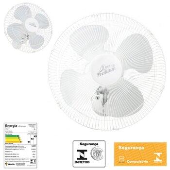 Ventilador de Parede 50cm Venti-Delta Premium Bivolts 170w - Chave com Controle de Velocidade - Ventilador Delta Premium Parede 50cm