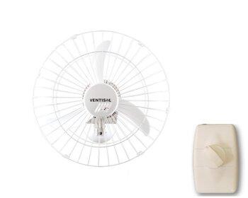 Ventilador de Parede 50cm Ventisol Bivolts 200w Branco Helice 3Pás Chave Controle de Velocidade - Ventilador Osc Parede 50cm Premium