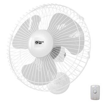 Ventilador de Parede 30cm Loren Sid 127v 130w - Chave Controle de Velocidade Rotativo - Capacitor 04