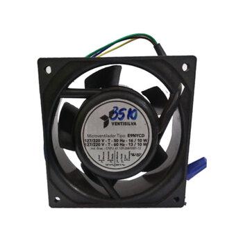 Exaustor Microventilador 09cm Bivolts - Cooler Ventisilva E9 NYCD Bivolts Carcaça de Nylon COOLER 09CM EXA09 EXAVSV