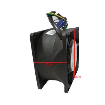 Exaustor Microventilador 07cm Bivolts - E7NYCD 80X80X38mm BIV 05M3/H - Cooler 3180/3170RPM 40DB - EXA07 EXAV