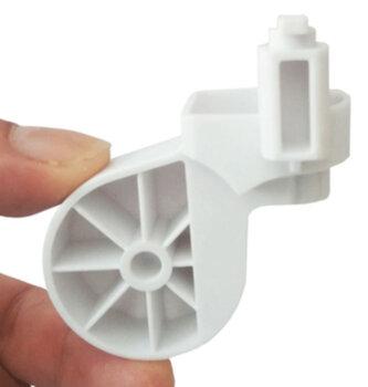 Mecanismo do Oscilante - Suporte do Motor do Ventilador FAET - Articulador FAET Branco