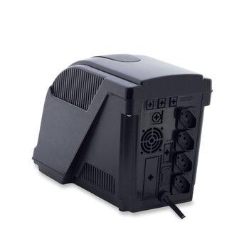 NOBREAK UPS MAX SECURITY 700VA Bivolts - Voltagem de Saída 110/115/127V Preto - Force Line/ForceLine