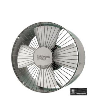 Exaustor de 30cm Loren Sid Bivolts Vazão 1.200 m3h - c/Chave Reversível - Exaustor Comercial cor Cinza - Exaustor para Ambientes
