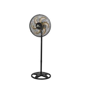 Ventilador de Coluna 40cm Venti-Delta Free Bivolts 140W Preto/Hélice 6Pás Bronze