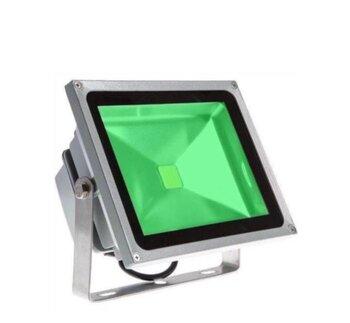 Luminária Projetor de LED Montalto C.O.B 20W - Luz Verde Bivolt - AG-1856