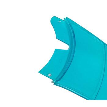 Pá Hélice para Ventilador de Teto SPIRIT VT200 201 202 203 300 301 302 303 - Plastica cor AZUL NEON - Vendida p/Unidade - Orignal