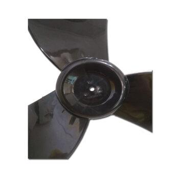 Hélice para Ventilador Ventisilva VENTI50 50cm 3Pás Preta Encaixe 15,0mm Meia Lua Sem Trava Traseira - Fixar c/Porca RE 7,0mm na Ponta