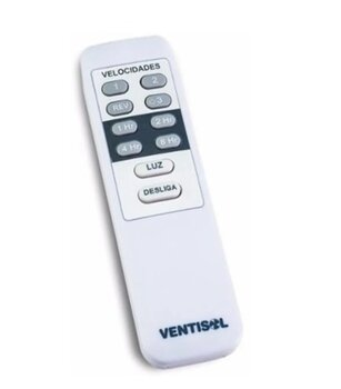 Modulo Transmissor/Manual do Controle Remoto Ventilador Ventisol Bivolts - APENAS o Modulo Transmissor Manual