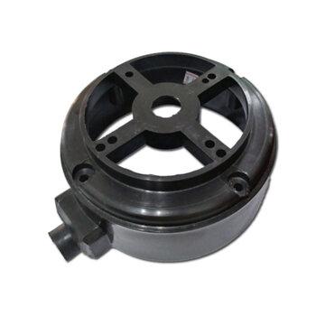 Tampa do Motor Dianteira ou Traseira para Ventilador Ventisilva 65cm VCL VPL PRETA - Carcaça Ny  Mod.2012 DIA/TRAS c/Rebaixo FVO400