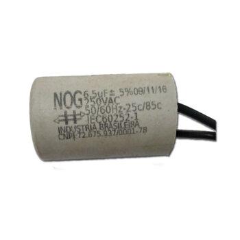 Capacitor para Ventilador de Teto Arge Economic 127V 06,5uF 2Fios 250VAC - Ventilador Arge Genius Ventilador Arge Ventus - Aliseu Inspire Special