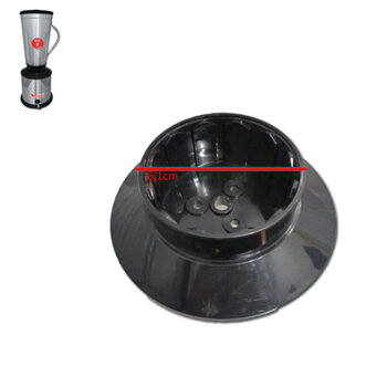 Base Superior Externa do Corpo do Motor do Liquidificador Vitalex 2 Litros Alta Rotação - Tampa Superior Externa - Encaixa o Copo 2Litros Inox