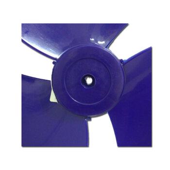 Hélice para Ventilador Mondial Line 30cm 3Pás Azul - Eixo 8,0mm Ponta Meia Lua - HELVOMONDIAL HEL30
