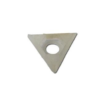Capa Triângular da Porca do Eixo do Ventilador de 50/60cm Venti Delta Premium - Delta Gold - APENAS A CAPA *SEM PORCA.