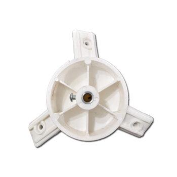 Centro da Helice do Ventilador Venti-Delta Super-Delta Oscilante Parede/Coluna 60/65cm Branco - Cubo para Helice do Oscilante 60/65cm Super-Delta