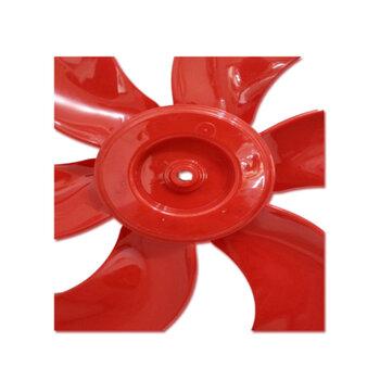 Helice para Ventilador TRON 50cm Premium 6Pás Vermelha Modelo Atual 2020/2021 - Ponta Redonda Encaixe em Eixo 10,0mm c/Trava Traseira