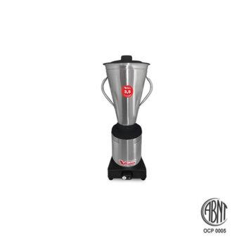 Liquidificador Industrial de Alta Rotação - Viltalex Vita Inox 3,5 Litros Bivolts 840w/Consumo 1200Watts/Potência - Liquidificador Vitalex de Alta Rot