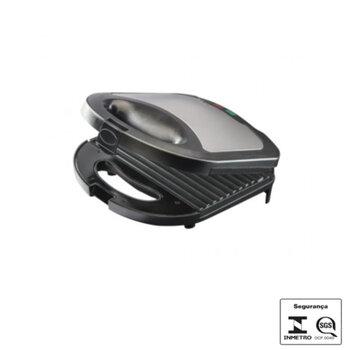 Sanduicheira e Grill Inox 127V 750w Mr.Cheff Agratto -  SI01 (OCP-0040 SGS)