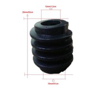 Engrenagem Rosca Sem Fim para Ventilador Dômina 50/60cm - Encaixe em Eixo 12mm - Rosca Sem Fim Domina 50/60cm