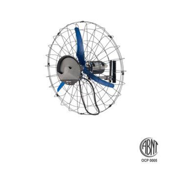 Climatizador de Ar Solaster Power10 Pulverizante 220Volts Suporte de Parede com Ventilador de 1Metro - Vazão 19800m3/Hora