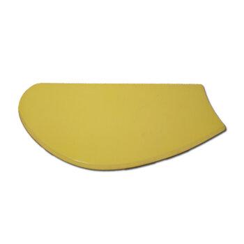 Pá Hélice para Ventilador de Teto - Pá MDF Modelo Tuba cor Amarelo - Pá para Ventilador Arge - Loren Sid - Ventisol - Venti-Delta - Vendida p/Unidade