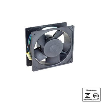 Exaustor Microventilador 14cm Bivolts - Cooler Ventisilva E14CD Bivolts Carcaça de Nylon 162x162x55mm - *Use Cód.0591 SEM máscara = substitui perfeita