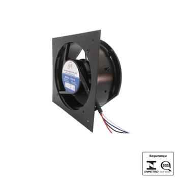 Microventilador Axial 17cm 172X159X51 Bivolts - ASA A171 Mine Fan FAN17251B Carcaça Metal - *Sem Máscara Substitui Axial 14cm ou Axial 15cm
