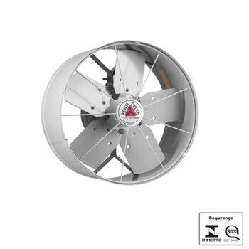 Exaustor de 40cm Venti-Delta 127v06,0/10,0uF Vazão 4.200 m3h - Hélice 5Pás c/Chave Reversão - cor Cinza